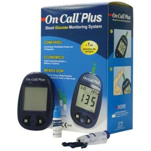 On Call Plus Blood Glucose Monitor